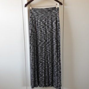 Soft Long Skirt With Slits On Both Sides
